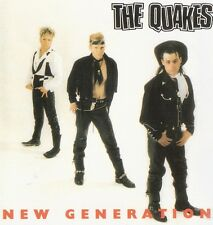 The Quakes - New Generation CD (US psychobilly)