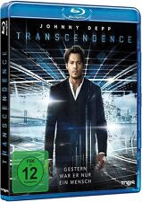 Blu-ray TRANSCENDENCE # Johnny Depp, Rebecca Hall, Morgan Freeman ++NEU