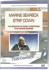 MARINE GEARBOX STRIP DOWN DVD PRESENTED BY TOM CUNLIFFE A DIY GUIDE
