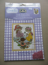 DMC Large Format Colour Cross Stitch Chart Sarah Kay Picnicwith Friends BL226/61