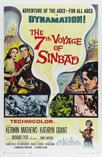 The 7th Voyage Of Sinbad movie poster (a)  Ray Harryhausen  : 11 x 17 inches