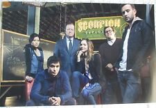 SCORPION CAST SIGNED 11x17 PHOTO KATHARINE MCPHEE ROBERT PATRICK DC/COA (RARE).