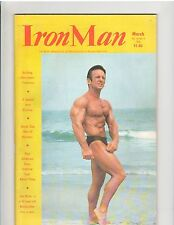 IRONMAN bodybuilding muscle magazine/JOE NISTA &  BERNA HAMMOSER of Germany 3-76