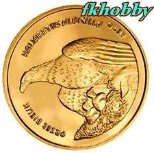 Poland Mikstat 2009 coins 4 lilie  Orzeł Eagle Birds Vögel Ptaki Oiseau Animals