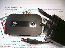 Huawei E5332 3G HSPA Mobile Wifi Wireless Hotspot Modem Router Unlocked (BLACK)