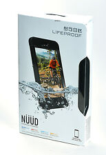 LifeProof nuud Waterproof Water Dust Proof Case for iPhone 6s Plus Black NEW BOX