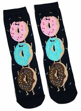 LADIES ICED DONUTS DOUGHNUTS SOCKS UK 4-8 EUR 37-42 USA 6-10
