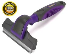 Pet Deshedding Tool By Hertzko, Great Tool, Gently Removes Shed Hair, Dogs, cats