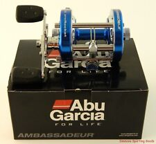 ABU GARCIA AMBASSADEUR 6500CS PRO ROCKET BLUE RIGHT HAND REEL 2015 #1366131