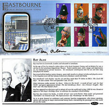 4 SEPTEMBER 2001 PUNCH AND JUDY BENHAM FDC SIGNED VENTRIOQUIST RAY ALAN