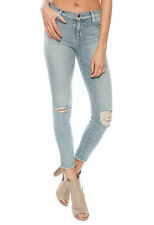 $235 J BRAND JEANS 835 DROPOUT DESTRUCTED DESTROYED CROP CAPRI SKINNY 28 MISFIT