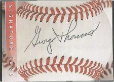 Detroit Tigers / Los Angeles Angels GEORGE THOMAS signed Sweet-Spot card