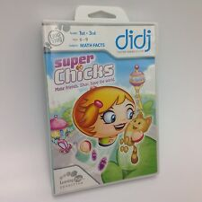 LeapFrog didj Game: SUPER CHICKS Brand New Sealed