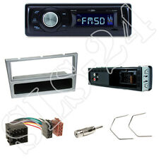 Caliber RMD021 Autoradio + Opel Astra G/Corsa Blende chrom + ISO Adapter + Set