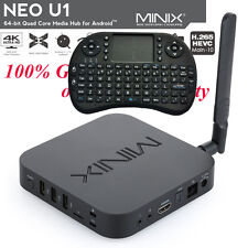 Minix Neo U1 Streaming Media Player Android Kodi Smart TV Box With I8 Keyboard