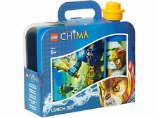 LEGO THE LEGENDS OF CHIMA LUNCH BOX SET BOX & DRINK BOTTLE