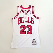 100% Authentic Michael Jordan Mitchell & Ness 95 96 Bulls Finals Jersey 36 S