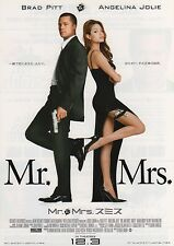 Mr & Mrs Smith - Original Japanese Chirashi Mini Poster - Angelina Jolie
