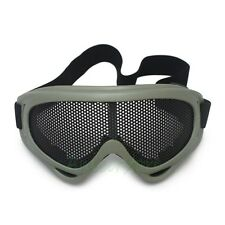 Airsoft Shooting Tactical Outdoor Activity Goggles Metal Mesh Safety Glasses