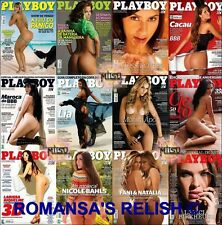 COLLECTORS  RUSSIAN,GERMAN,USA PLAYBOY MAGAZINES X 190 EDITIONS  ON TWO DISC