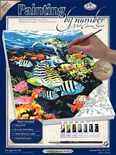 Royal & Langnickel Painting by Numbers Small Canvas Painting Set, Ocean Deep