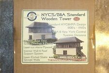 "N SCALE  NYC / B&A ""STANDARD"" WOODEN  N SCALE ARCHITECT # 10032"