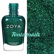ZOYA ZP861 MERIDA lush green metallic nail polish ~ URBAN GRUNGE Collection *New