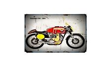 1962 matchless g50 Bike Motorcycle A4 Retro Metal Sign Aluminium