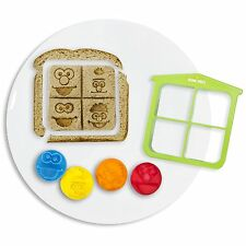 Sesame Street Sandwich Crust Cutter with 4 Stamps