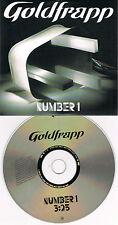 Single CD – Goldfrapp – Number 1 (1 Track PROMO) – Cardsleeve - (2005)