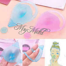 Facial Cleansing Face Blackhead Remover Pad Silicon Brush Beauty Tool Massage CA