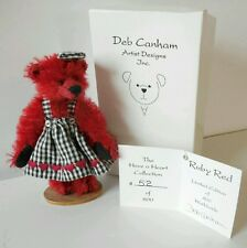 Deb Canham Ruby Red Bear Have A Heart Collection LE 52/800