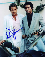 MIAMI VICE - DON JOHNSON PHILIP MICHAEL THOMAS AUTOGRAPH SIGNED PP PHOTO POSTER