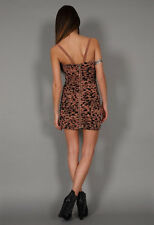 TWENTY8TWELVE BY S. MILLER GRAYSON LEOPARD DRESS IN  MULTI #MD $495