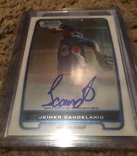 2012 Bowman Chrome Jeimer Candelario Auto Autograph Rookie RC Cubs Quantity