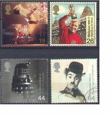 GB 1999 ENTERTAINERS set(4) Very Fine Used (CTO with gum) SG 2092-5