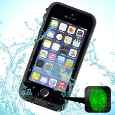 Waterproof ShockProof Touch ID Fingerprint Scanner Case Cover for iPhone 5 5S