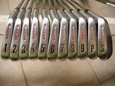 Cobra Greg Norman Signature Tour Forged 1-P,S Golf Irons. RARE! 3 Wilson Wedges