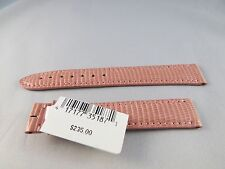 New Authentic Cartier OEM Tank strap Shiny Pink Lizard band,15/14 15x14 15mm