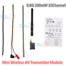 5.8G 200mW TS5823 32CH Channel FPV Mini Wireless AV Transmitter Module NEW