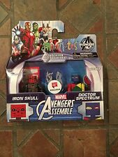 Marvel Minimates IRON RED SKULL & DOCTOR SPECTRUM Avengers Animated Walgreens