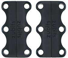 Magnetic Shoe Lace Closures, ZUBITS, 1 Black