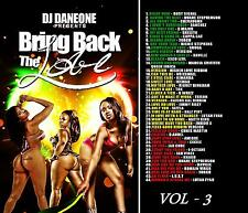 BRING BACK THE LOVE REGGAE LOVERS ROCK &  CULTURE MIX CD VOLUME 3