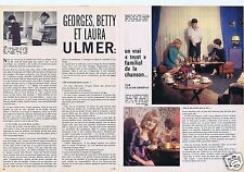 Coupure de presse Clipping 1966 Georges Ulmer Betty & Laura  (2 pages)