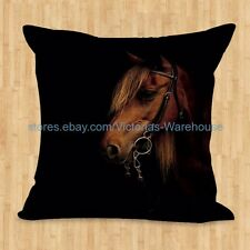 US SELLER- car seat cushion covers equine horse cushion cover equestrian animal