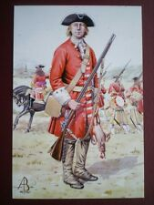 POSTCARD DERBY'S REGIMENT - PRIVATE - BLENHEIM 1704 - ALIX BAKER