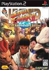 Used PS2 Hyper Street Fighter II The Anniversary Edition Japan Import
