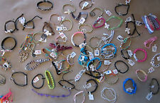 GirLs TEENS Bracelet mix ACCESSORY JEWELRY  LOT H&M CLAIRES-12 bracelets a lot