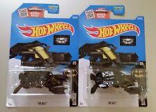 2016 Hot Wheels The Bat No. 227 Black - Set of 2