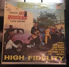 JOHNNY BOND Famous Hot Rodders I Have Known LP Vinyl Record High Fidelity